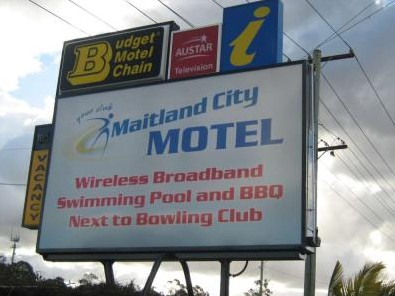 Maitland City Motel - Accommodation Fremantle