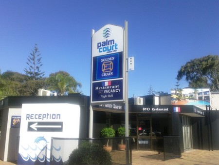Palm Court Motor Inn - Accommodation Fremantle
