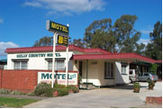 GLENROWAN KELLY COUNTRY MOTEL - Accommodation Fremantle