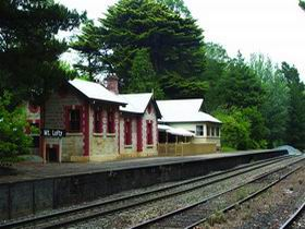 Mount Lofty Railway Station