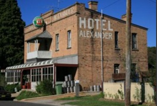 Alexander Hotel Rydal - Accommodation Fremantle