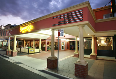 The Commodore Motor Inn - Accommodation Fremantle
