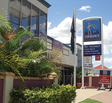 Sundowner Chain Motor Inn Rockhampton - Accommodation Fremantle