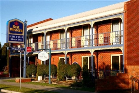 Best Western Burke amp Wills Motor Inn