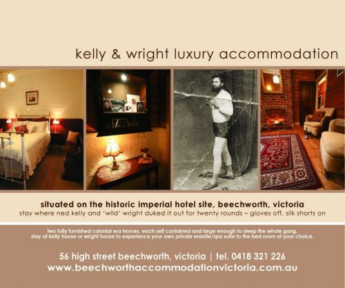 Beechworth Accommodation Victoria