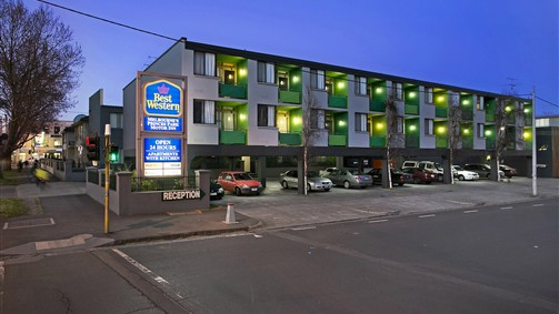 Best Western Melbourne's Princes Park Motor Inn - Accommodation Fremantle