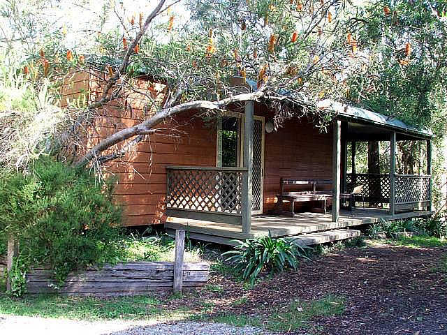 Jervis Bay Cabins  Hidden Creek Real Camping - Accommodation Fremantle