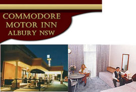 Commodore Motor Inn - Accommodation Fremantle