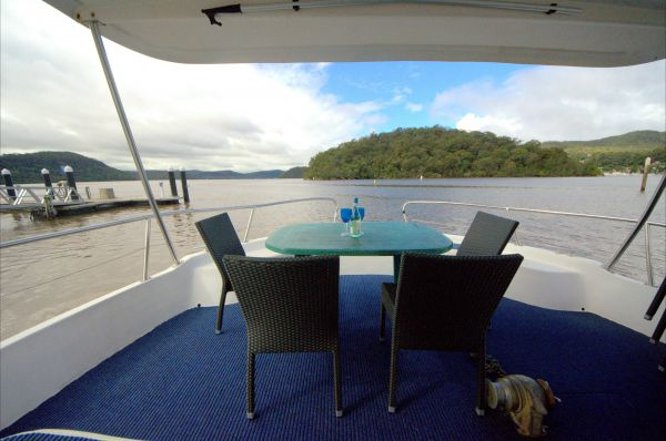 Luxury Afloat Hawkesbury River and Brooklyn - Accommodation Fremantle