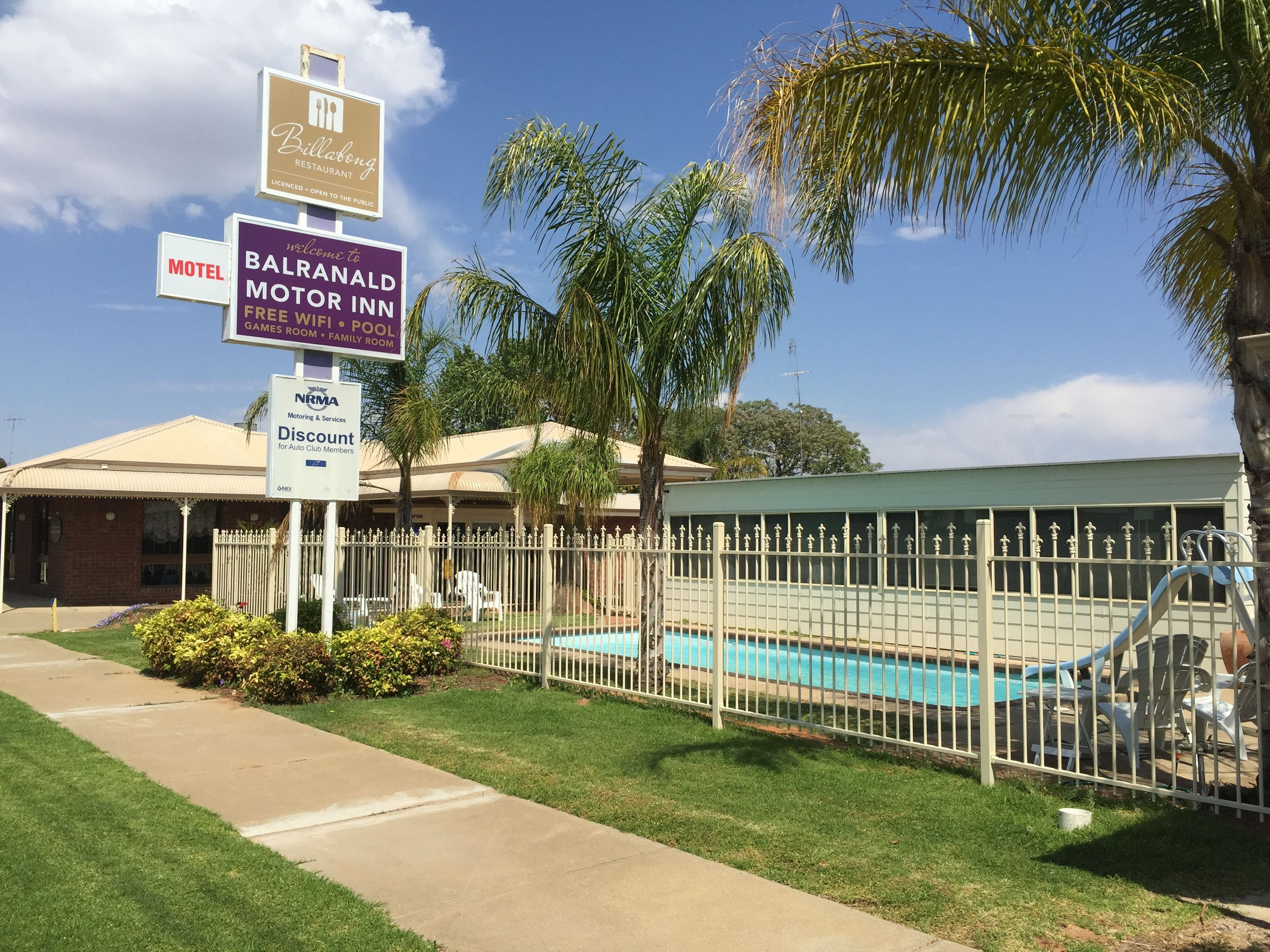 Balranald Motor Inn - Accommodation Fremantle