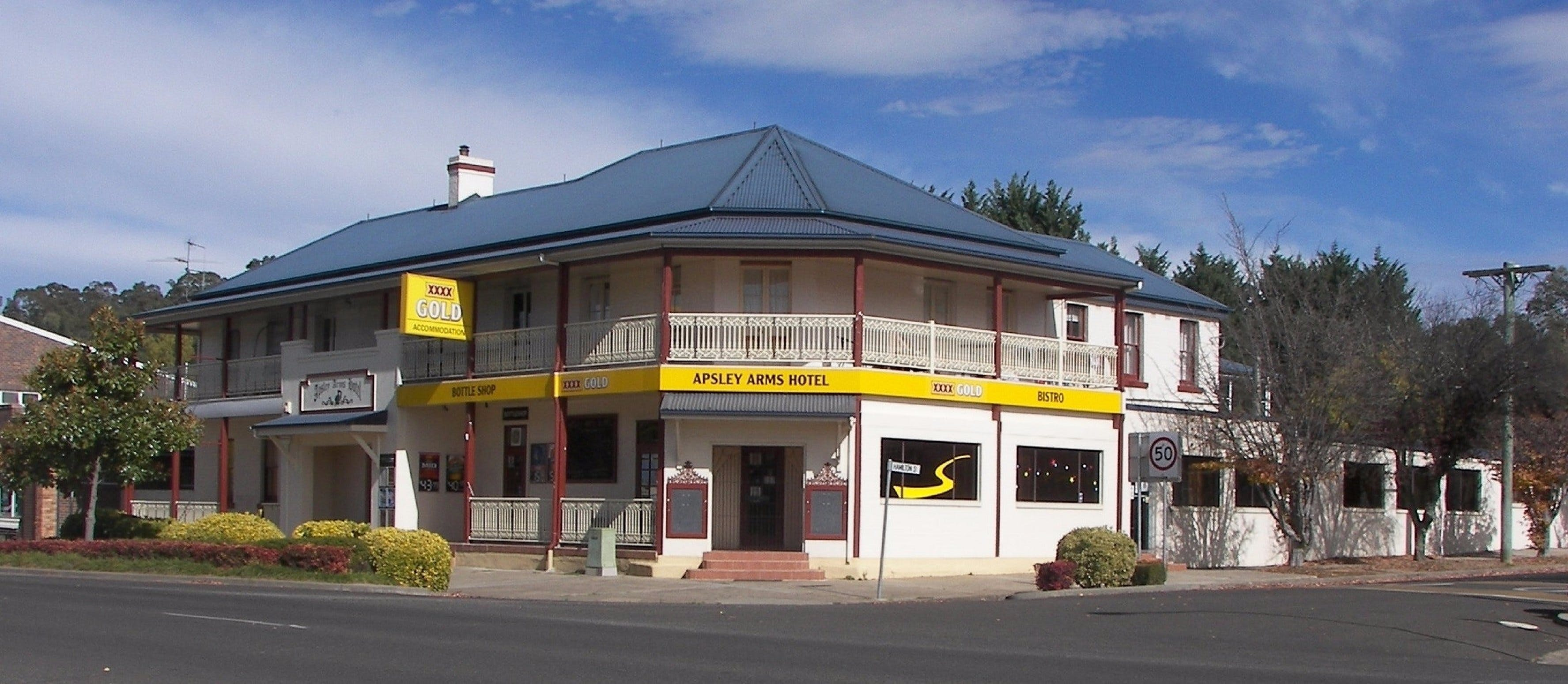 Apsley Arms Hotel - Accommodation Fremantle