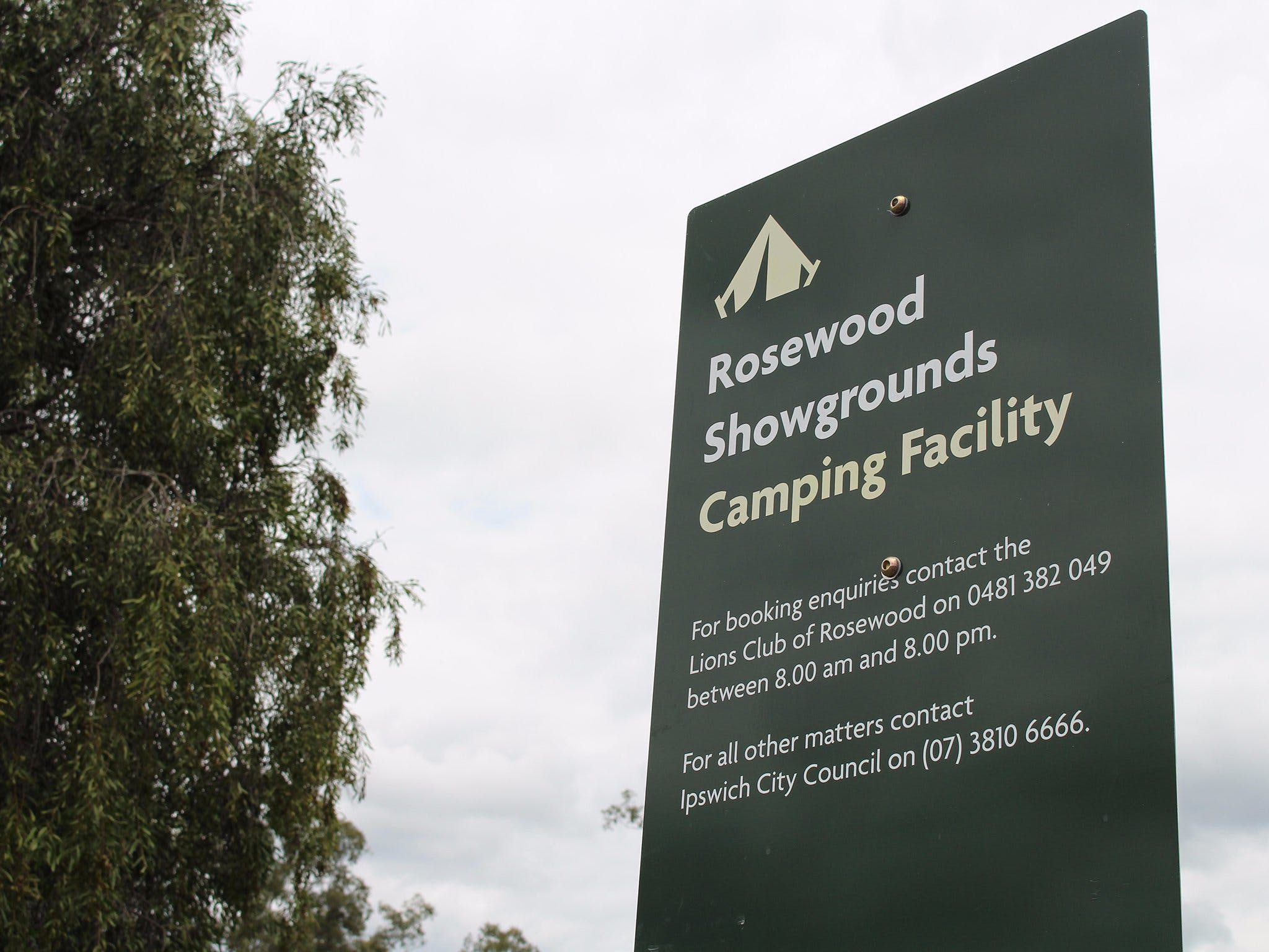 Rosewood Showgrounds Camping Facility - Accommodation Fremantle