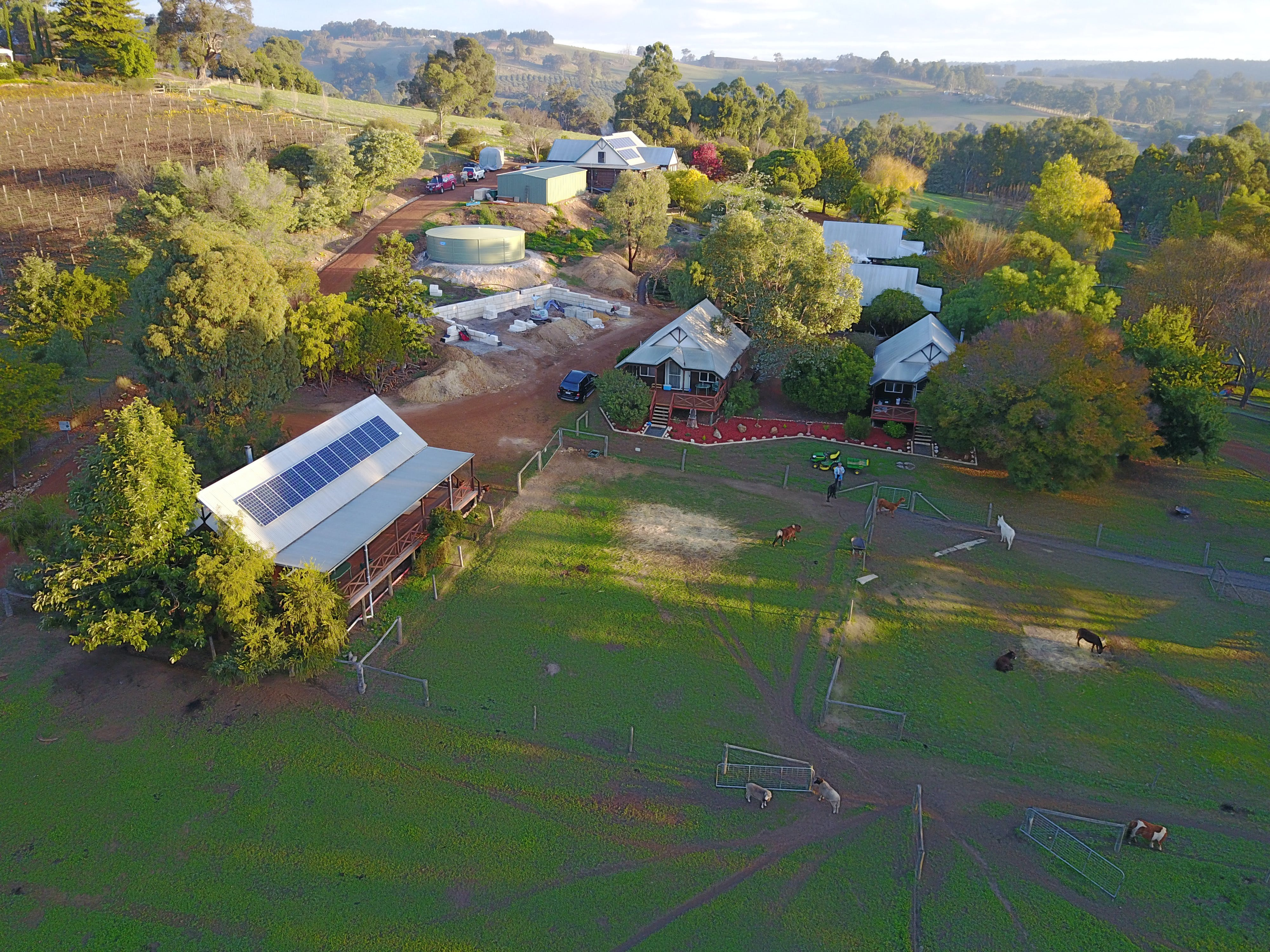 Sunnyhurst Chalets Farmstay - Accommodation Fremantle