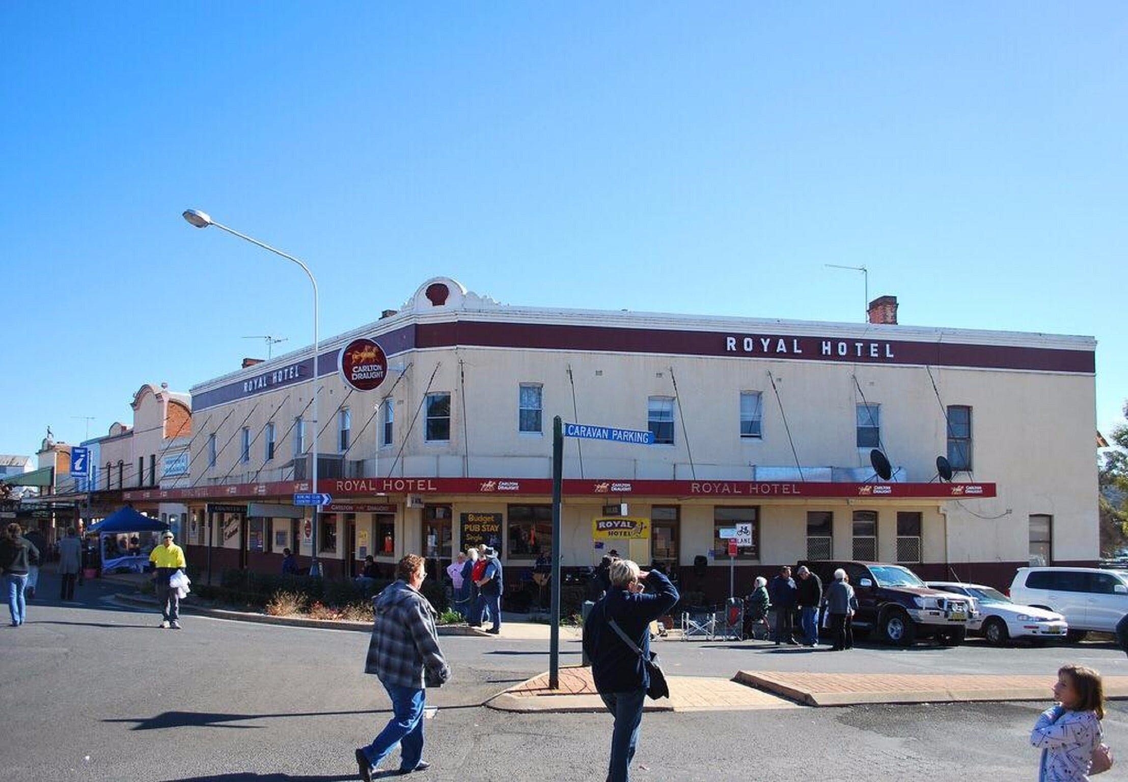 The Royal Hotel Grenfell - Accommodation Fremantle