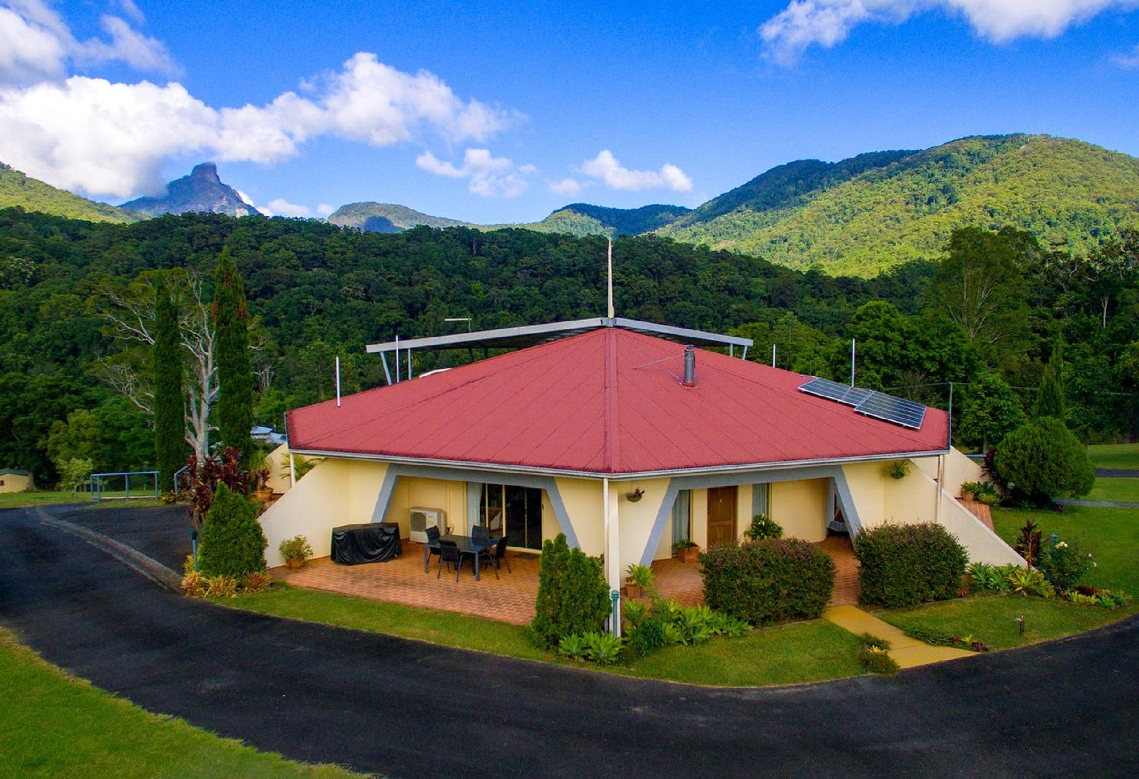 A View of Mount Warning Bed and Breakfast - Accommodation Fremantle