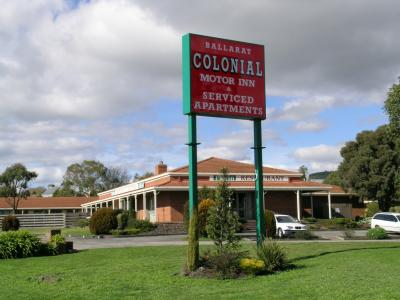 Ballarat Colonial Motor Inn - Accommodation Fremantle