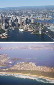 Sydney By Air - Accommodation Fremantle