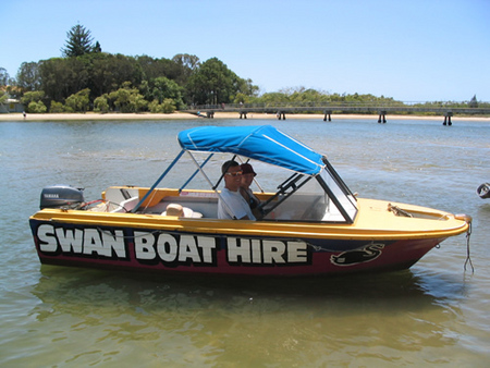 Swan Boat Hire - Accommodation Fremantle