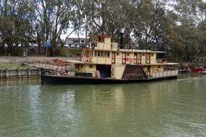 Emmylou Paddle Steamer - Accommodation Fremantle