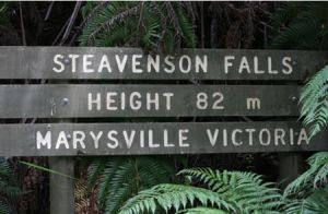 Stevensons Falls - Accommodation Fremantle