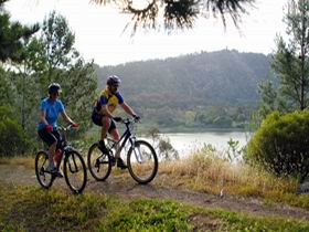 Mount Gambier Crater Lakes Mountain Bike Trail - Accommodation Fremantle