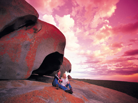 Remarkable Rocks Flinders Chase National Park - Accommodation Fremantle