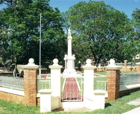 Boonah War Memorial and Memorial Park - Accommodation Fremantle