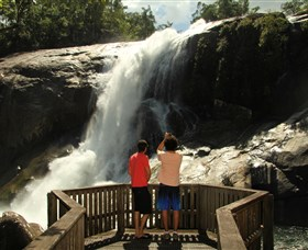 Murray Falls Girramay National Park - Accommodation Fremantle