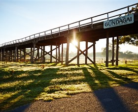 Historic Bridges of Gundagai - Accommodation Fremantle