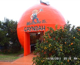 Gayndahs Big Orange - Accommodation Fremantle