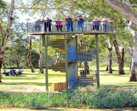 Darling and Murray River Junction and Viewing Tower - Accommodation Fremantle