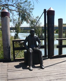 Captain John Egge Statue - Accommodation Fremantle