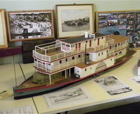 Wentworth Model Paddlesteamer Display - Accommodation Fremantle