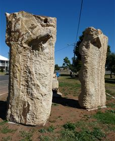 Fossilised Forrest Sculptures