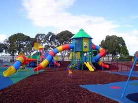 Millicent Mega Playground in The Domain - Accommodation Fremantle