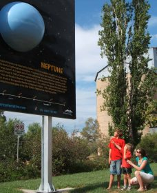 Worlds Largest Virtual Solar System Drive - Accommodation Fremantle