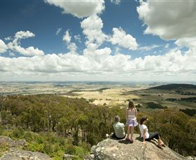Mt Wombat lookout - Accommodation Fremantle