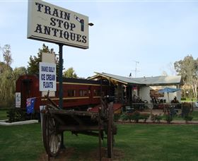 Train Stop Antiques - Accommodation Fremantle