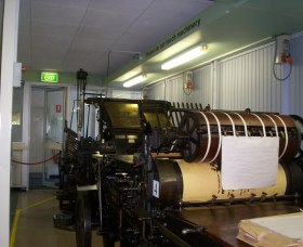 Queanbeyan Printing Museum - Accommodation Fremantle