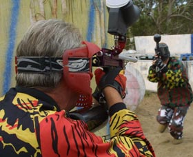 Paintball Skirmish - Accommodation Fremantle
