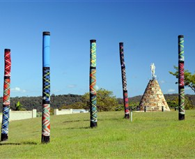 Maclean Tartan Power Poles - Accommodation Fremantle