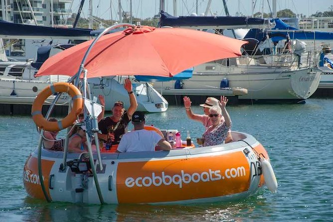 Self-Drive BBQ Boat Hire Mandurah - Group of 7 - 10 people - Accommodation Fremantle