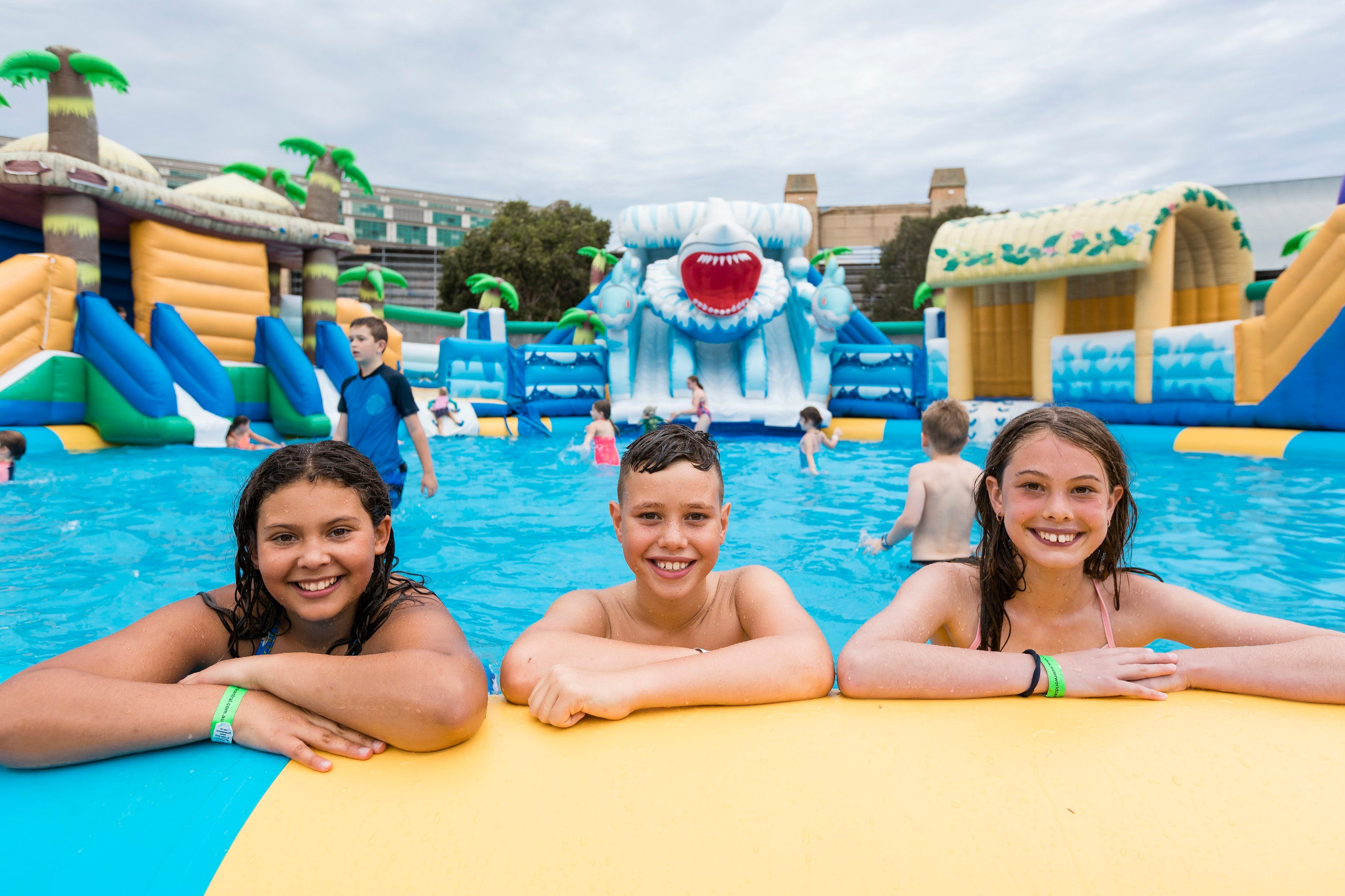 Waterworld Central - Mobile Inflatable Waterpark - Accommodation Fremantle