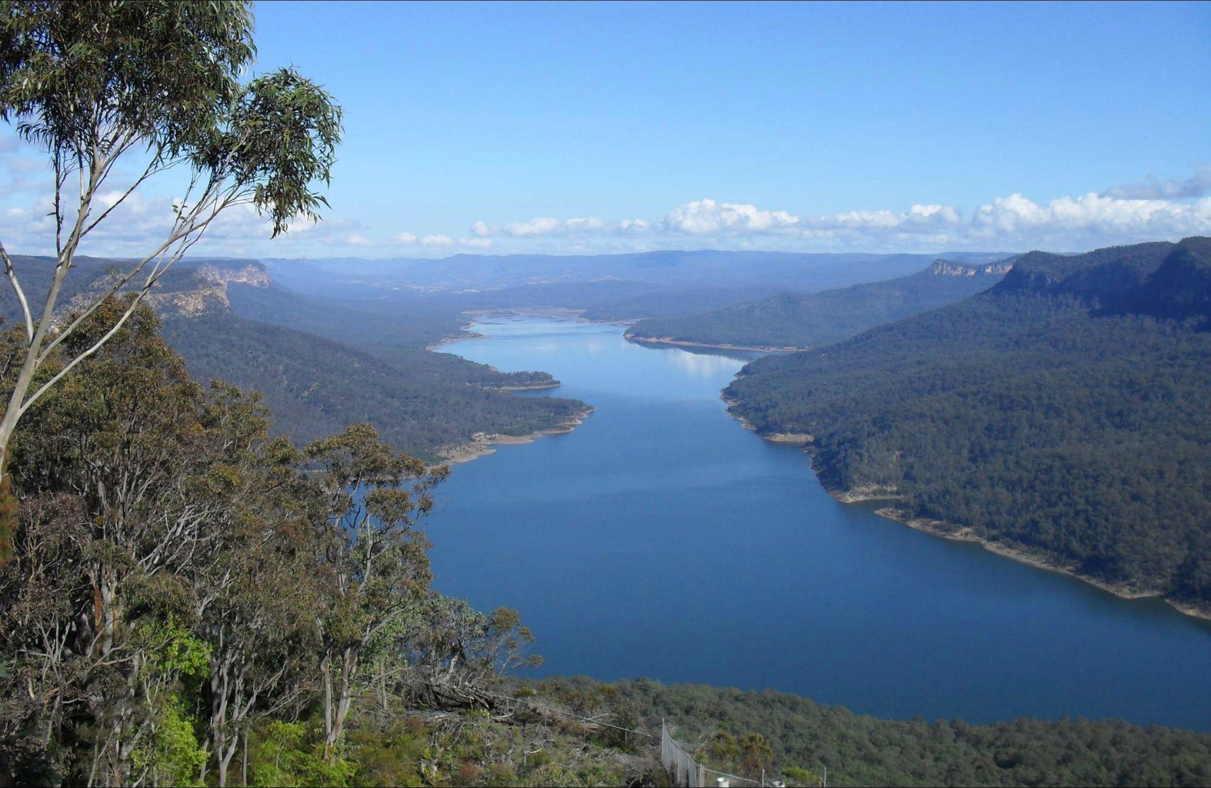 Burragorang lookout and picnic area - Accommodation Fremantle
