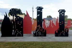 Lyrics Landscapes and Lintels - Leeton Public Art Trail - Accommodation Fremantle