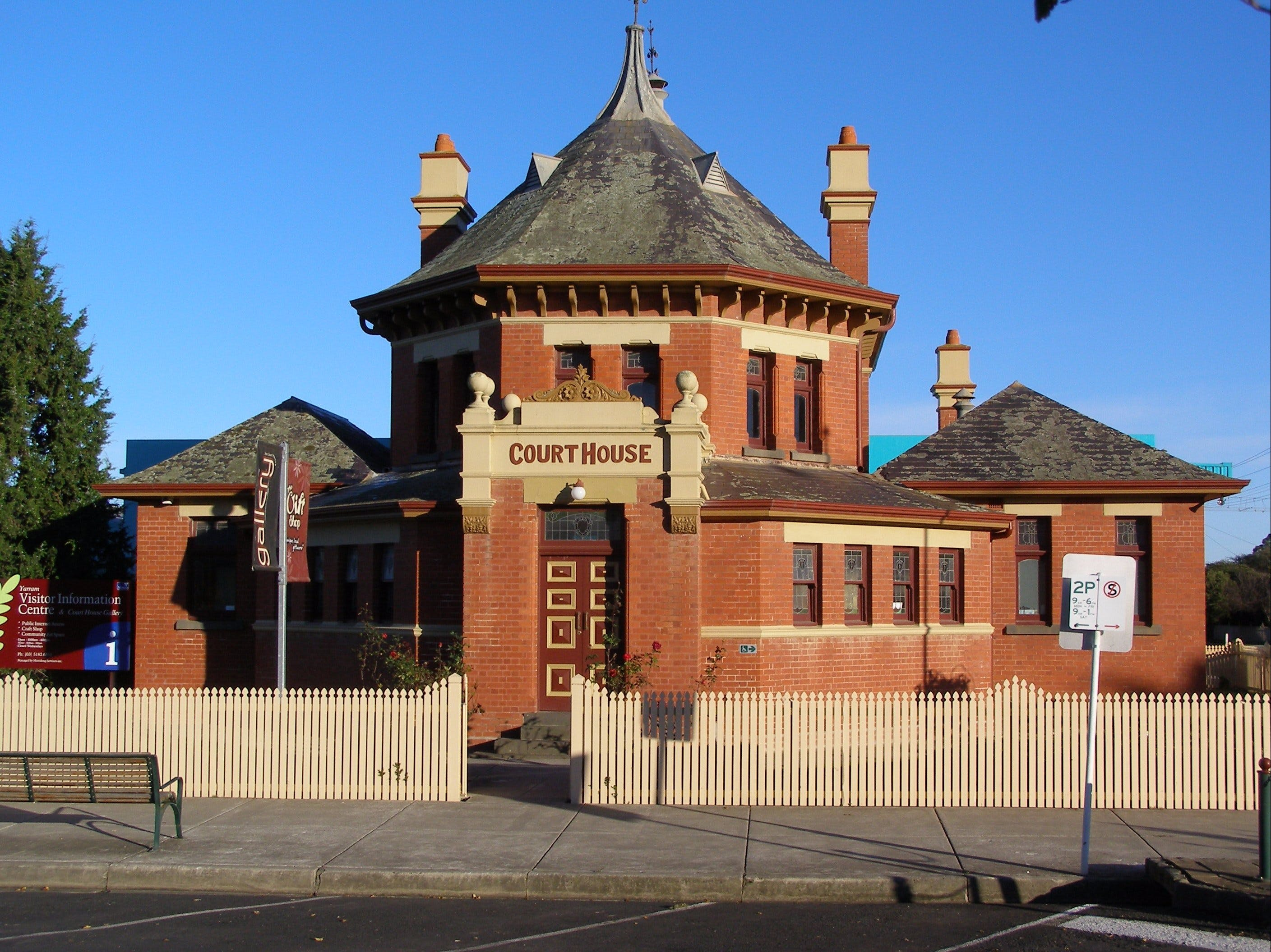 Yarram Courthouse Gallery - Accommodation Fremantle