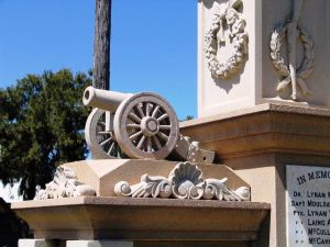 Boer War Memorial and Park Allora - Accommodation Fremantle