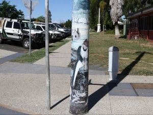 Capella Light Pole Murals - Accommodation Fremantle