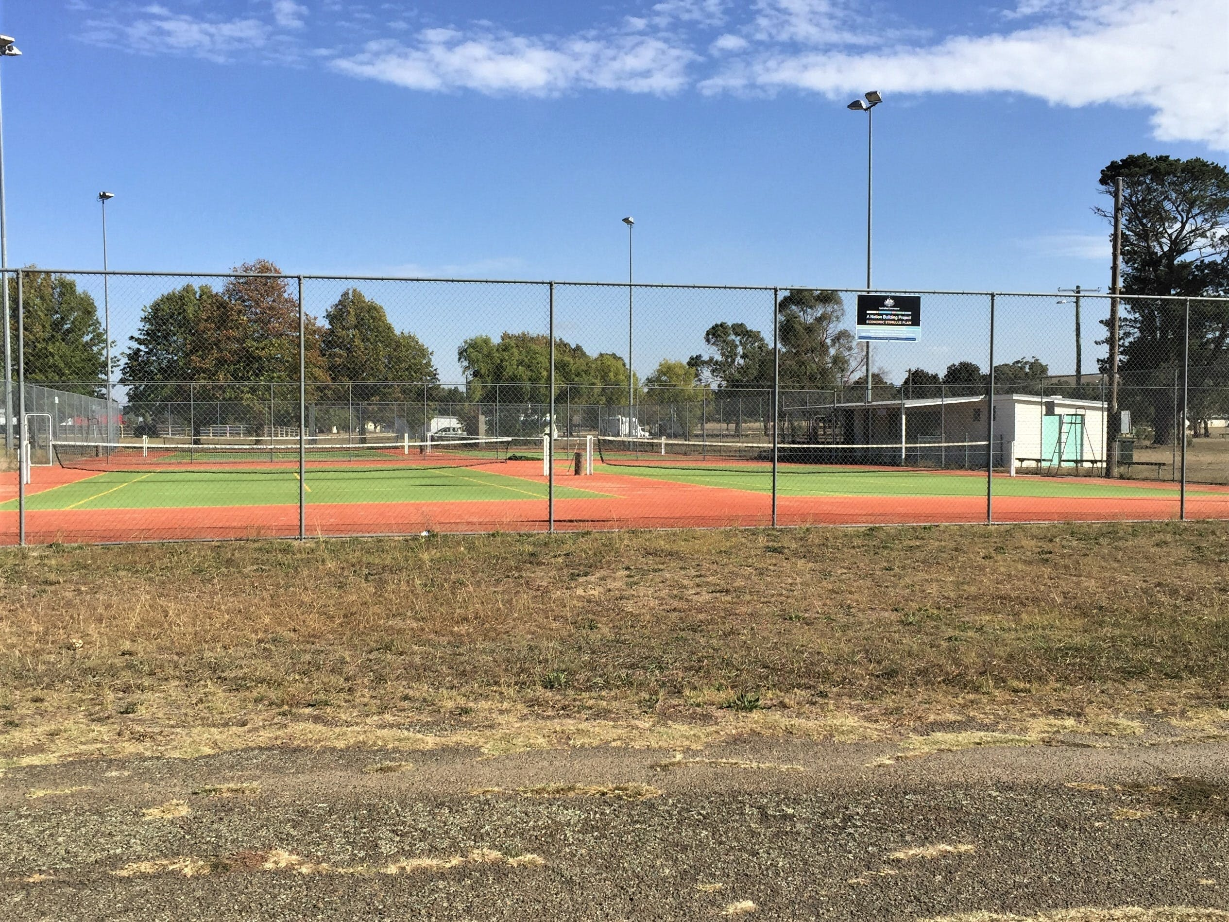 Gunning Tennis Courts - Accommodation Fremantle