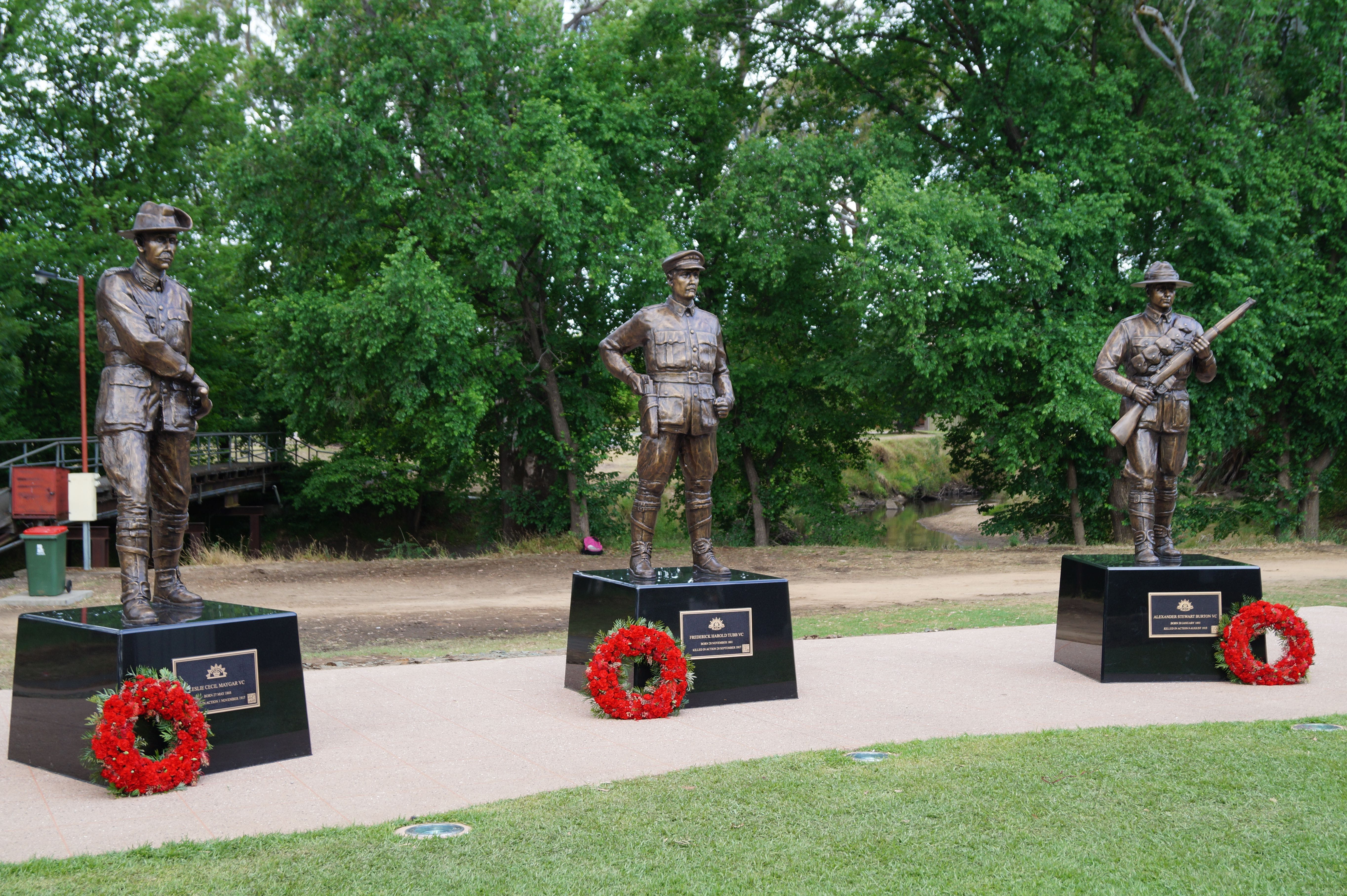 VC Memorial Park - Honouring Our Heroes - Accommodation Fremantle